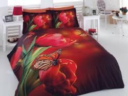 """3D спално бельо """"Пеперуди"""""""