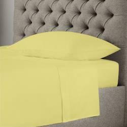 Спално бельо жълто