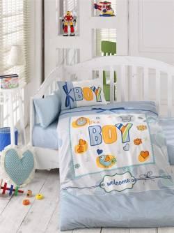 """Бебешко спално бельо """"Момче"""""""