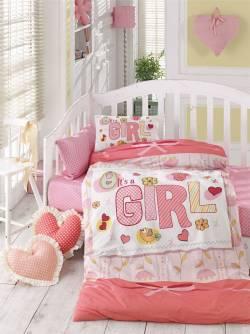 """Бебешко спално бельо """"Момиче"""""""