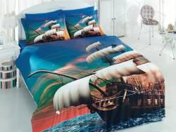 """3D спално бельо """"Кораб"""""""