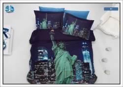"""3D спално бельо """"Ню Йорк"""""""