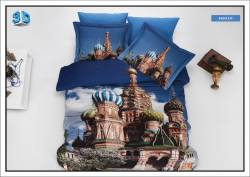 "3D спално бельо ""Москва"""