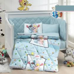 """Бебешко спално бельо """"Колт - синьо"""""""
