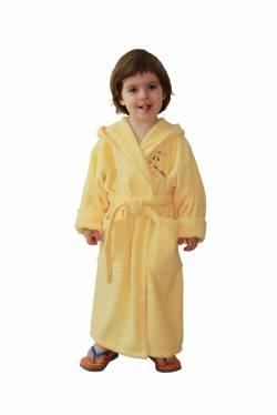 Детски халат с бродерия