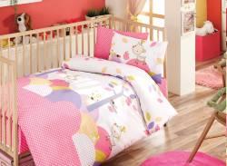 "Бебешко спално бельо ""Томи - розов"""